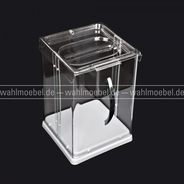 "Tisch-Eventurne ""Losbox"" transparent"
